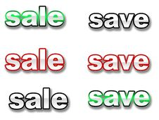 Free Save Sale Royalty Free Stock Photo - 3623605