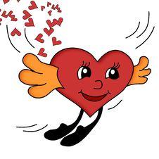 Free Flying Heart Stock Photos - 3623753