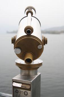 Free Telescope Luzern Royalty Free Stock Photo - 3623795