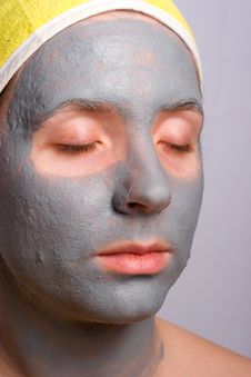 Free Recovery And Facial Of The Woman Royalty Free Stock Image - 3624356