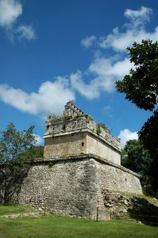 Free Ancient Mayan Fortress And Ramparts Stock Images - 3624414