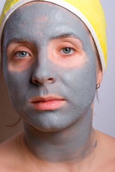 Recovery And Facial Of The Woman Stock Photo