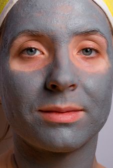 Recovery And Facial Of The Woman Stock Image