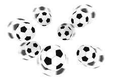 Free Isolated Soccer Balls Royalty Free Stock Image - 3624816