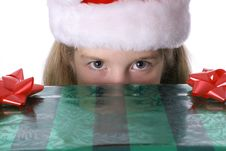 Free Peek A Boo Present Stock Images - 3625024