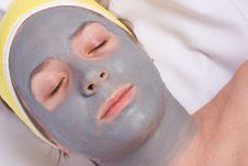 Recovery And Facial Of The Woman Stock Photos
