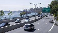 Free Traffic On FDR Drive Royalty Free Stock Photos - 3626068