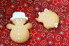 Free Gingerbread Cookies Stock Image - 3626191