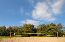 Free Volleyball Net Royalty Free Stock Images - 3626509
