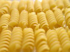 Free Fusilli Italian Pasta White 2 Stock Photos - 3627313