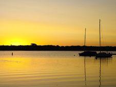 Free Sunrise On White Bear Lake, MN Stock Photography - 3627782
