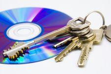 Free CD And Keys Stock Photos - 3628263