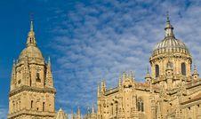 Free Salamanca Cathedral Royalty Free Stock Photos - 3628888