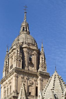 Free Tower Of The Salamanca Cathedral Stock Photography - 3628922