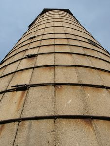 Free Cement Silo Royalty Free Stock Photos - 3628978