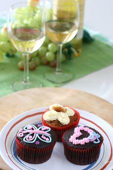 Free Cupcakes Stock Image - 3629691