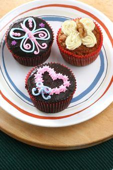 Free Cupcakes Stock Image - 3629701
