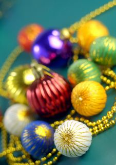 Ornament Of Christmas Stock Image