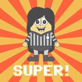 Free Little Referee Cartoon Royalty Free Stock Image - 36200496