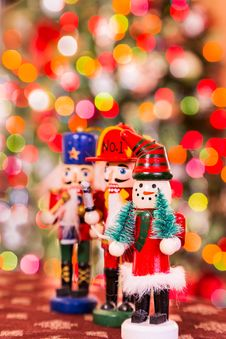 Free Christmas Figures Royalty Free Stock Photography - 36204437