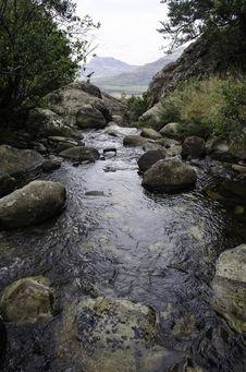 River Ravine Stock Photos