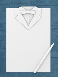Paper Respectable List Royalty Free Stock Photo