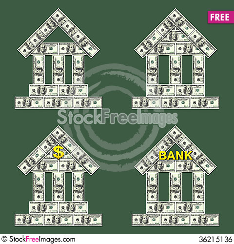 Free Symbols Bank Royalty Free Stock Image - 36215136