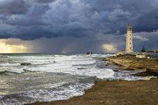 Free Tarkhankut Lighthouse Royalty Free Stock Photos - 36210818