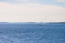 Free Two Sailboats Stock Photos - 36211493