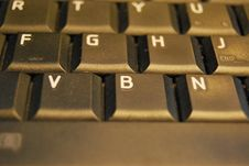 Free Black Keyboard Royalty Free Stock Image - 36212006