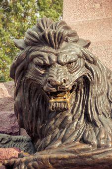 Free Lion Monument Stock Photos - 36212503