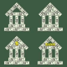 Free Symbols Bank Royalty Free Stock Image - 36215136