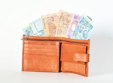 Free Red Wallet Royalty Free Stock Photo - 36218395