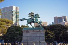 Free Japanese Samurai Statue Stock Photos - 36219663