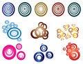 Free Pack Of Circular Shapes Royalty Free Stock Image - 36221046