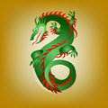 Free Fantastic Green Dragon Royalty Free Stock Photos - 36225908