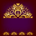 Free Elegant Background With Lace Ornament Royalty Free Stock Photos - 36225928