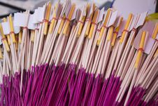 Free Incense Sticks Stock Image - 36221261