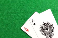Free Poker Cards Stock Photography - 36222052