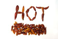 Hot Chilli Stock Photos
