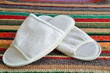 Free House Slippers  As Symbol Cosiness Stock Photography - 36224962