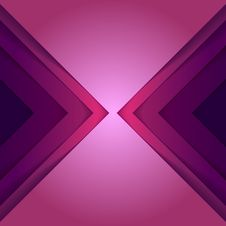 Free Abstract Purple Triangle Shapes Background Royalty Free Stock Photography - 36226147
