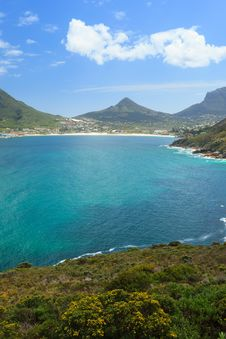 Free View Of Hout Bay From Chapmans Peak Stock Image - 36232271