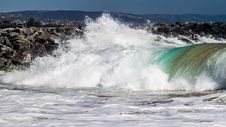 Free Big Pacific Wave Stock Image - 36233431