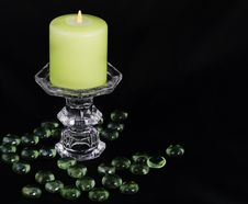 Free Burning Candle Royalty Free Stock Images - 36234609