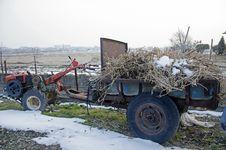 Free Korean Tractor Stock Image - 36235971