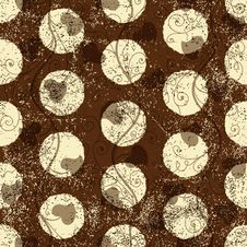 Free Seamless Grungy Brown Pattern Stock Photo - 36237280