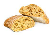 Free Fresh Bread Isolated Royalty Free Stock Photos - 36239298