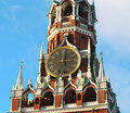 Free Clock On The Central Tower Of The Moscow Kremlin Royalty Free Stock Photos - 36243598