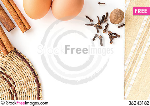 Free Cooking Recipe Blank Stock Photography - 36243182